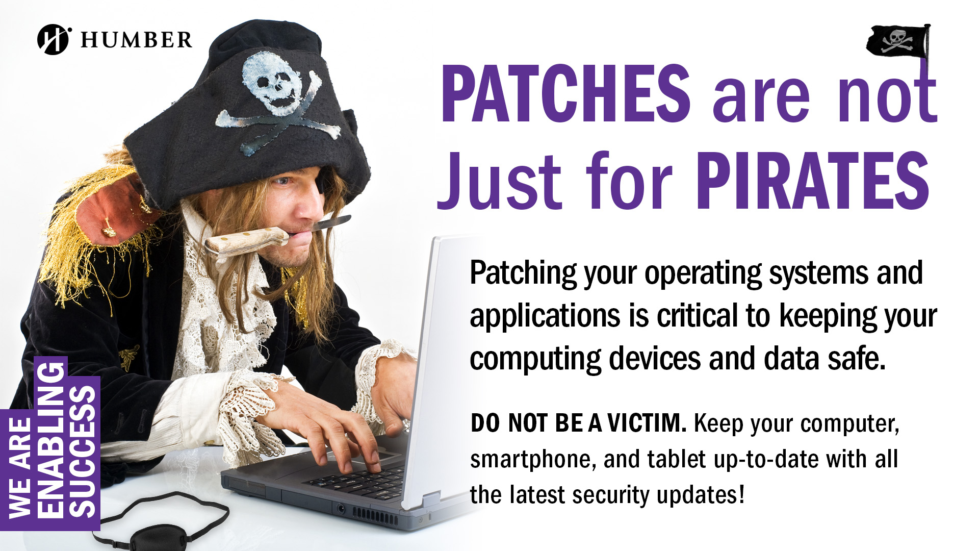 PATCHES are not Just for PIRATES Anymore