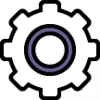 icon of a cog wheel