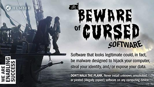 Beware of Cursed Software